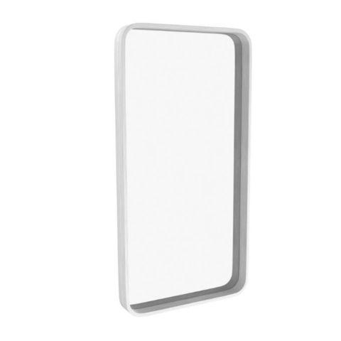 Зеркало прямоугольное Иконс (белый дуб)