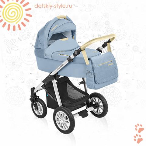 """Коляска Baby Design """"Dotty Denim"""" 2в1 (Беби Дизайн)"""