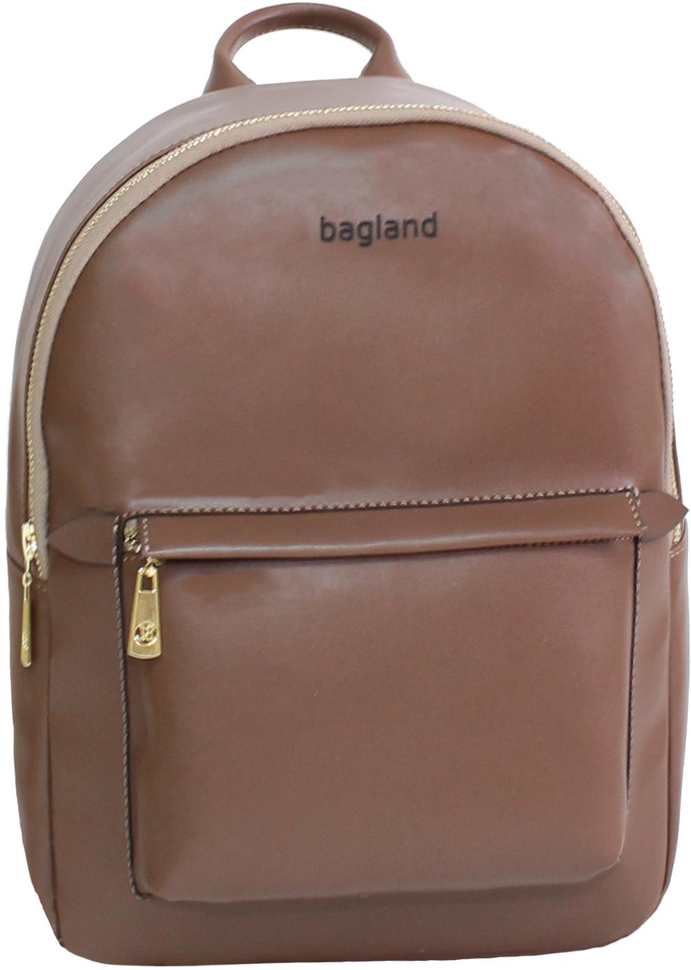 Женские рюкзаки Рюкзак Bagland Linda 6 л. 299 коричневый (0014096) IMG_8892.JPG