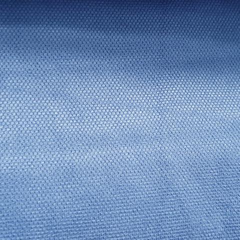 Канвас - ткань для штор - синий. Ширина - 280 см. Арт. 15