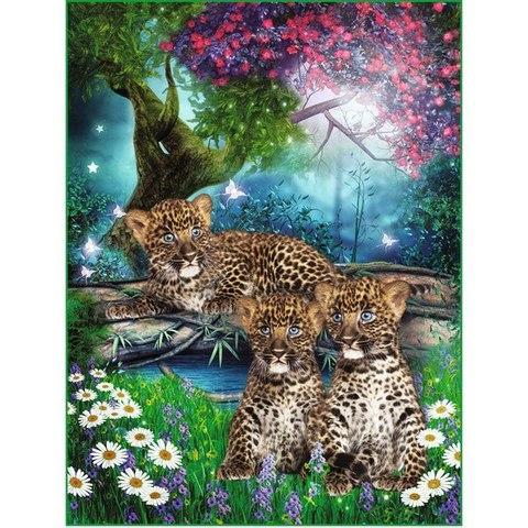 Леопардики 196x260 см