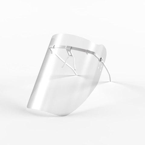 Маска пластмассовая для защиты лица