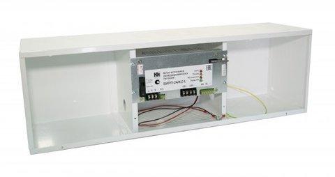 Источник вторичного электропитания резервированный с увеличенной емкостью АКБ БИРП-24/4,0L
