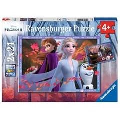 Puzzle Frozen 2:Frosty Adventure 2x24 pcs