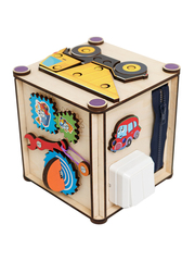 Бизи-куб «Самосвал» (17х17х18) фото 4