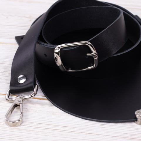 """Комплект для сумочки Орео """"Черный"""" N1"""