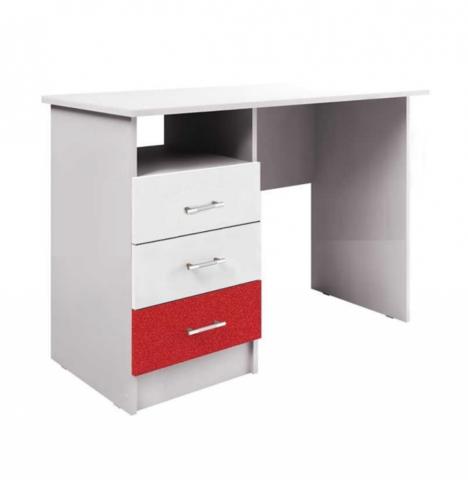 Письменный стол Алфавит красный