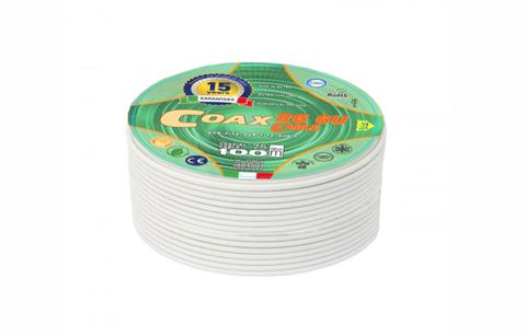 Коаксиальный кабель RG-6U Coax (100м)