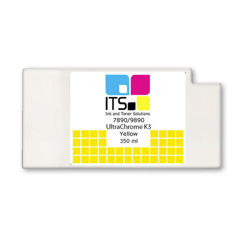 Картридж для Epson 7890/9890 C13T596400 Yellow 350 мл