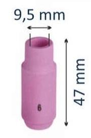 Сопло керамическое #6 d=9,5мм (для горелок моделей 17-18-26)