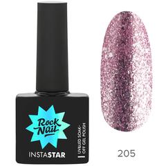 Гель-лак RockNail Insta Star 205 Christina, 10мл.