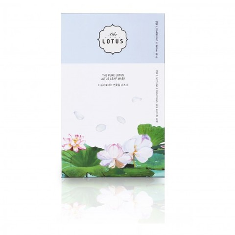 Маска Для Яркости Кожи THE PURE LOTUS Leaf Mask Soothing & Brightening Mask