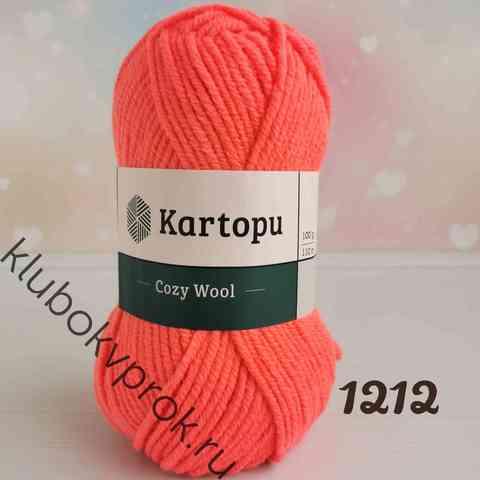 KARTOPU COZY WOOL K1212, Коралл