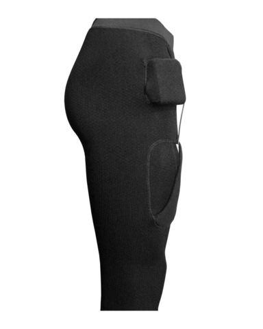 Короткие кальсоны с подогревом RedLaika Arctic Merino Wool RL-TM-33 мужские черные