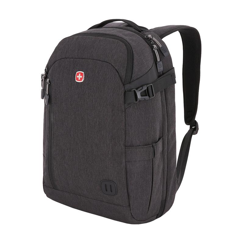 Рюкзак WENGER, цвет серый, 29 л., 47х31х20 см., отделение для ноутбука 15