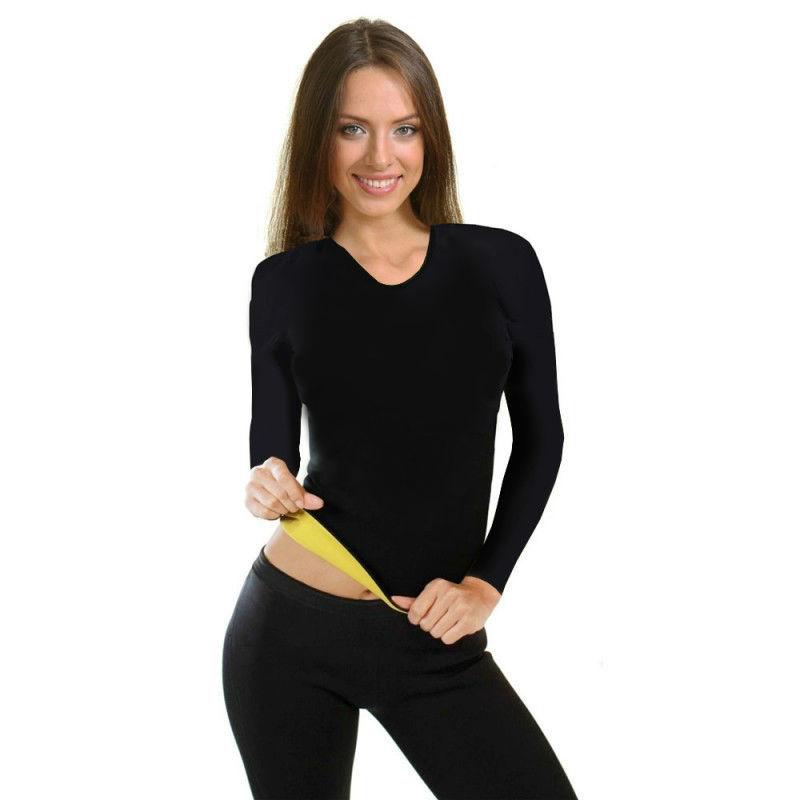 Одежда для фитнеса Футболка Hot Shapers с длинным рукавом 55dc311b150402de38f03e0667100d7b.jpg