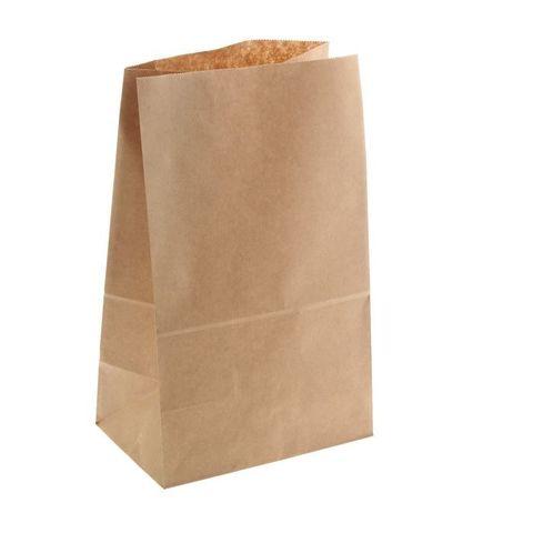 Пакет крафт бумажный фасовочный, прямоугольное дно 18 х 12 х 29 см   1307014