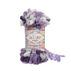 Пряжа Alize Puffy Color цвет 6342