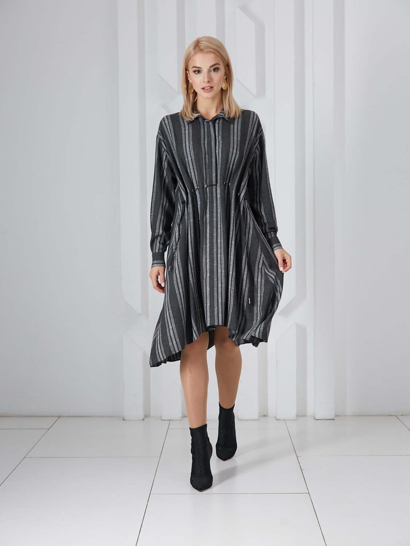Платье plt-51760f/антрацит
