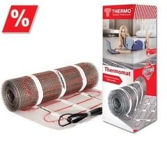 Тонкие нагревательные маты Thermo Thermomat 180 (повышенная мощность) 6 кв.м.