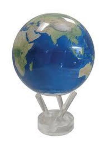 Глобус MOVA GLOBE Планета Земля голубая (12см)