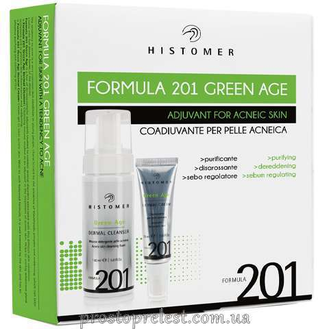 Histomer Formula 201 Green Age Kit - Комплексний догляд для шкіри з акне
