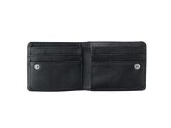 Купюрница с обработанными краями, черная