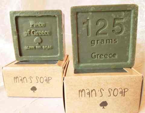 Мужское мыло ручной работы Piece of Greece