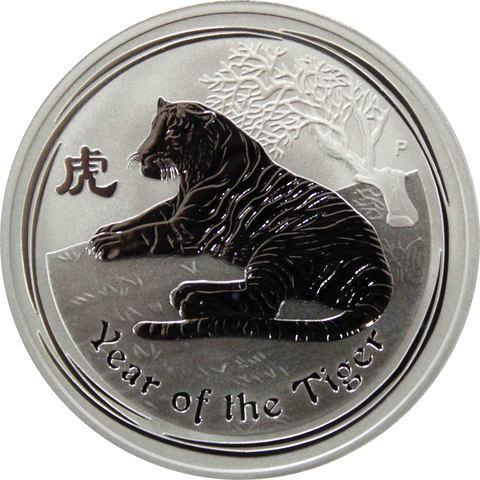 1 доллар. Год Тигра. Австралия. 2010 год