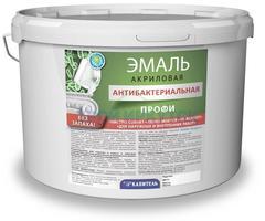 Эмаль акриловая Капитель ПРОФИ антибактериальная, 12кг ПРОФИ