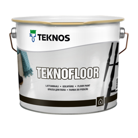 TEKNOS TEKNOFLOOR/Текнос Текнофлор Краска для пола на основе полиуретана