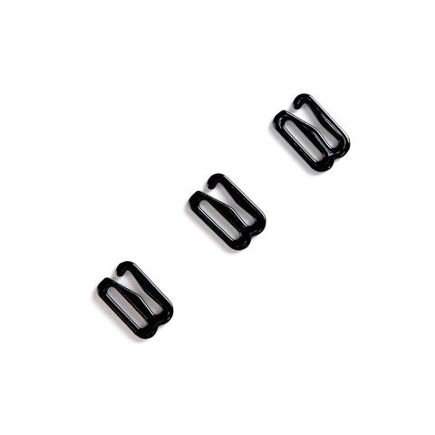 Крючок для бретели черный 12 мм