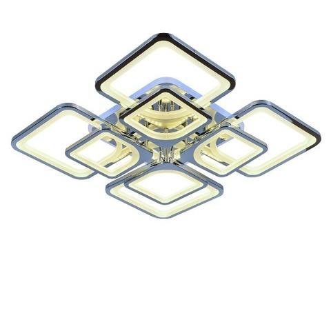 Потолочная светодиодная люстра CX-8036/4+4 CR ML