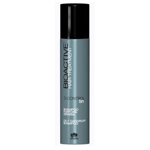 Farmagan Bioactive Treatment: Шампунь против жирной перхоти и гипергидроза (Shampoo Oily Dandruff), 250мл