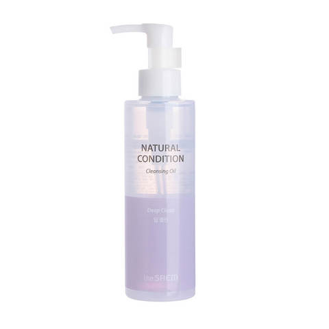 The Saem Natural Condition Cleansing Oil Deep Clean гидрофильное масло для жирной кожи