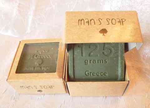 Критское мыло для мужчин Piece of Greece от Minoan Life