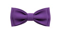 Однотонный галстук - бабочка (индиго)