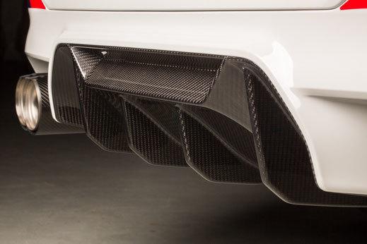 Карбоновая вставка в диффузор  для BMW M5 F90