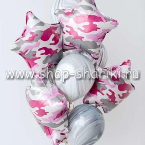 шары на 23 февраля девушкам