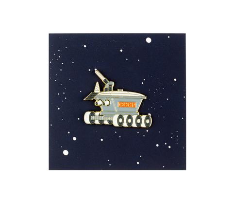 Значок металлический Космос'61: Луноход