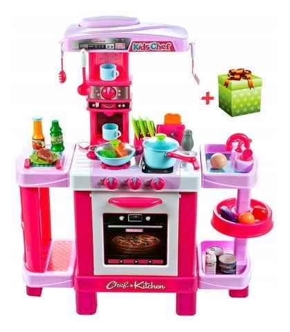 Розовые игровые кухни
