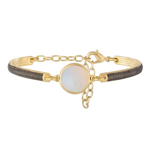 Классический браслет Pearl Opaline C1363.25 BW/G