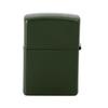 Зажигалка Zippo US Army, латунь с покрытием Green Matte, зеленая, матовая, 36х12x56 мм