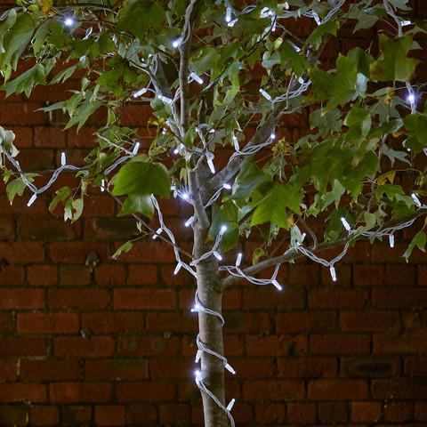 Гирлянды для деревьев нити LED уличные 14 метров