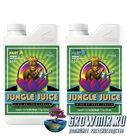 Advanced Nutrients Jungle juice 2-parts A & B Grow (1л)