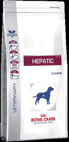 R.С. Гепатик Канин HF 16 д/собак при заболеваниях печени,пироплазмозе 12кг