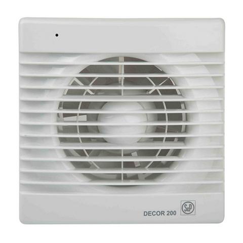 Накладной вентилятор Soler&Palau Decor 100CR (таймер)