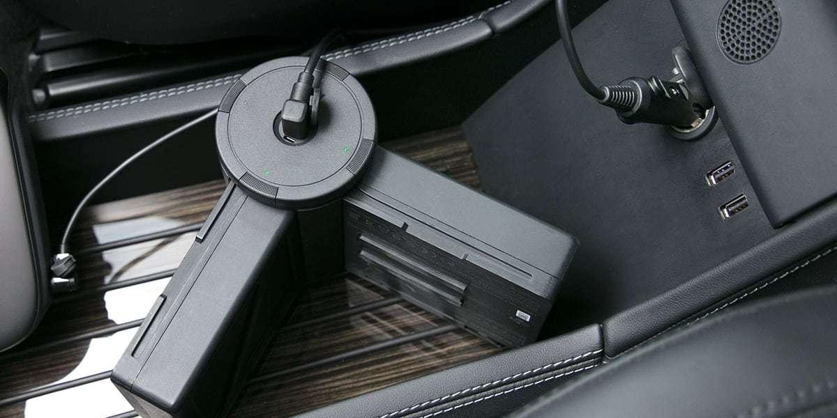 Автомобильное зарядное устройство для DJI Inspire 2 Car Charger (Part37)