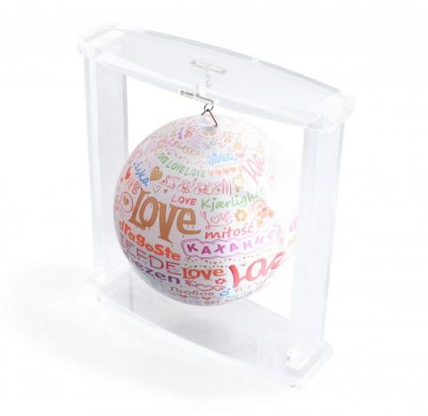 Глобус MOVA GLOBE I love you на подвесе d12 см