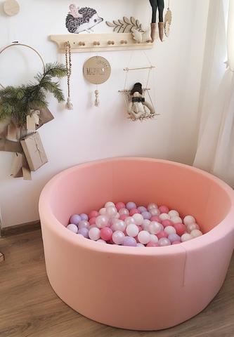Сухой бассейн Anlipool 100/40см персик комплект №4 Velvety peach